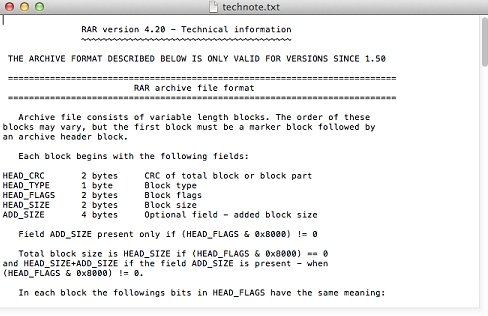 RAR Mac image 2