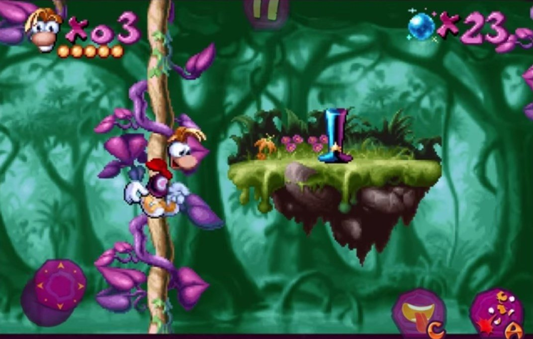 Rayman Classic Android image 8