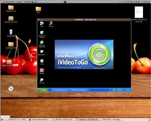 Rdesktop 1.7.1