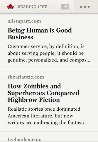 Readability iPhone image 5