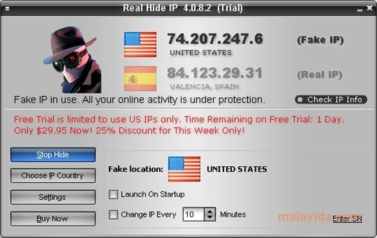 Real Hide IP 4 6 2 8 - Download for PC Free