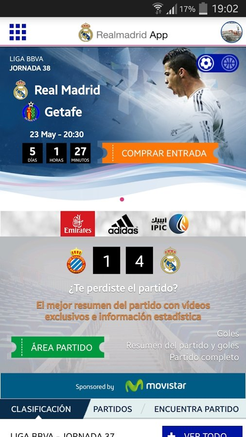 Real Madrid App Android image 5