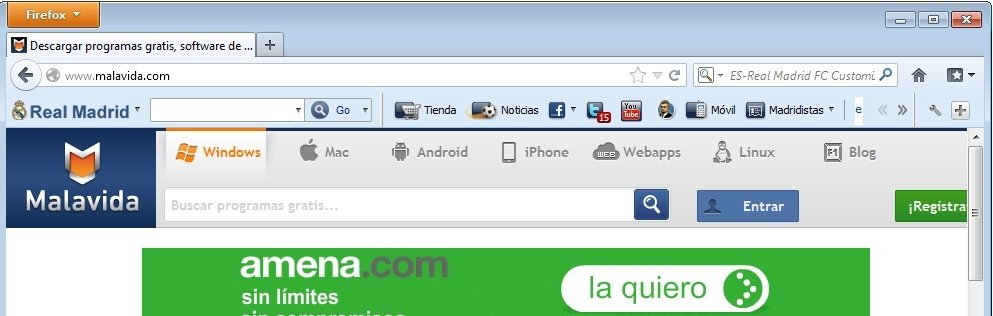 Real Madrid FC Toolbar image 6