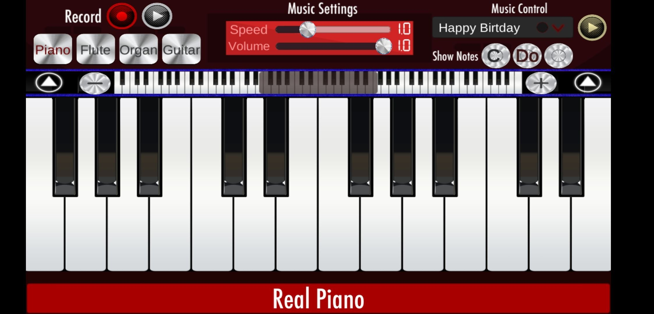 Real Piano 1 14 - Download for Android APK Free
