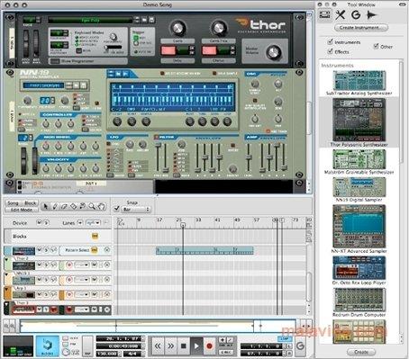 reason music software free mac