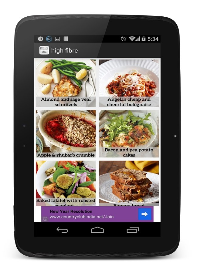 Diet Plan Recipes Android image 5
