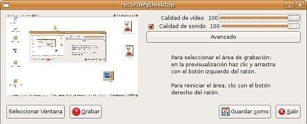 recordMyDesktop Linux image 2