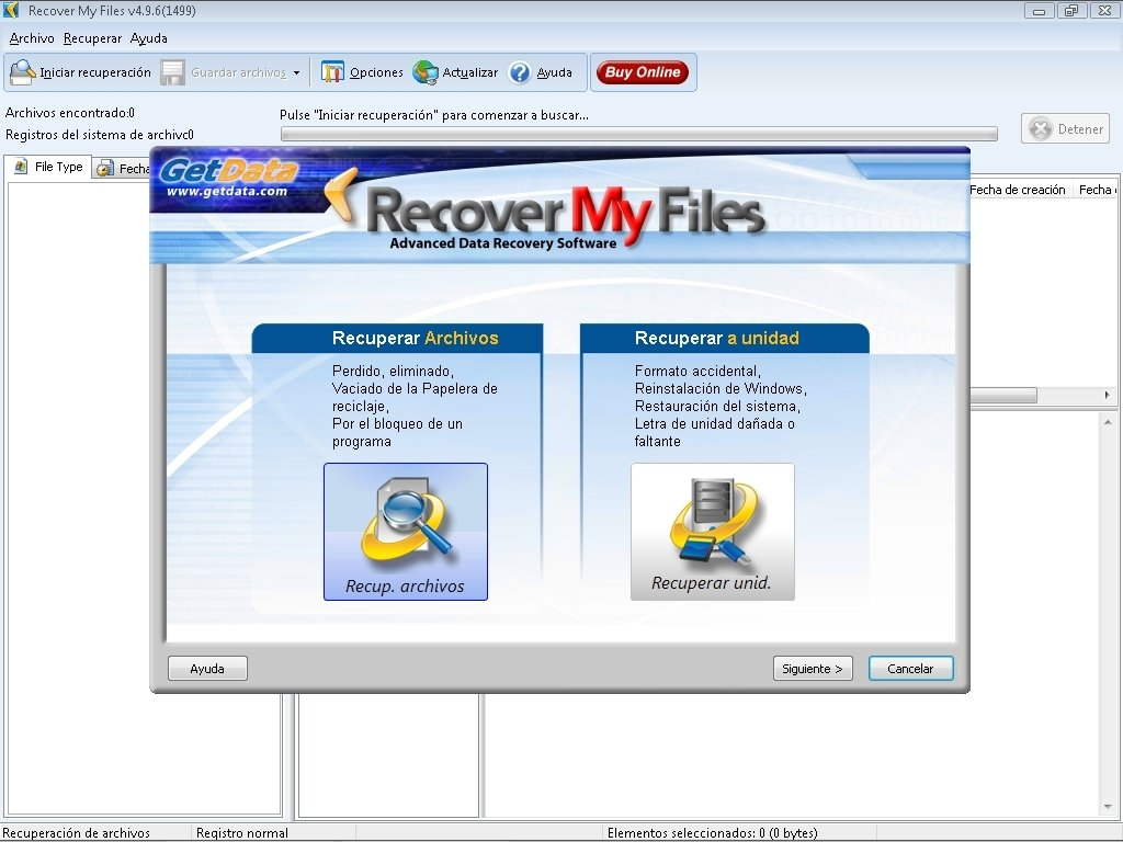 Recover My Files 6 3 2 2553 - Download for PC Free