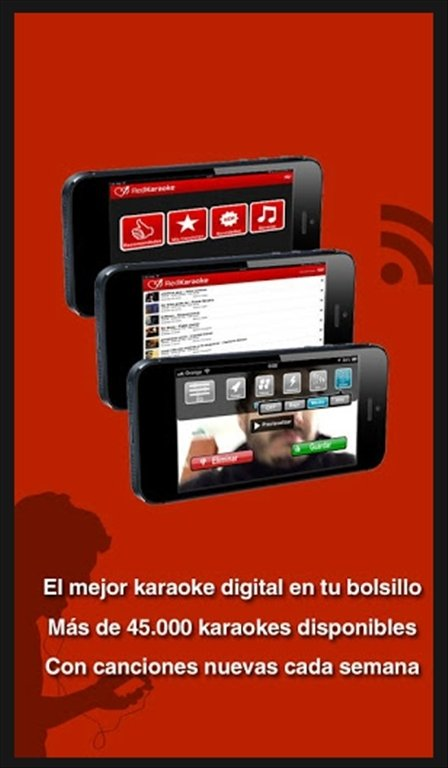 Red Karaoke 3 1 - Download für Android APK Kostenlos