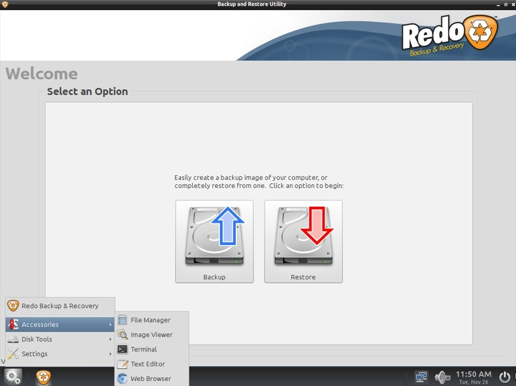 Redo Backup and Recovery Linux image 5