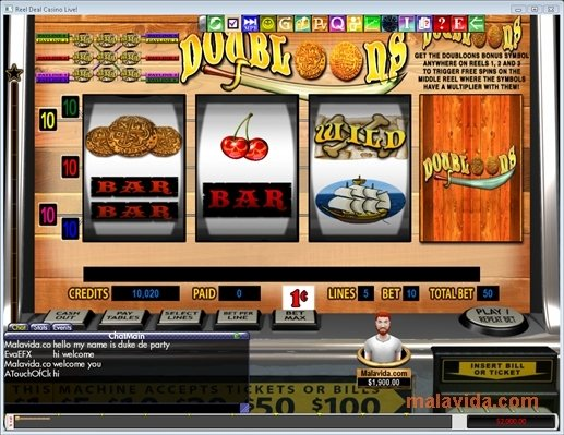 Reel deal casino live free money casino games no deposit