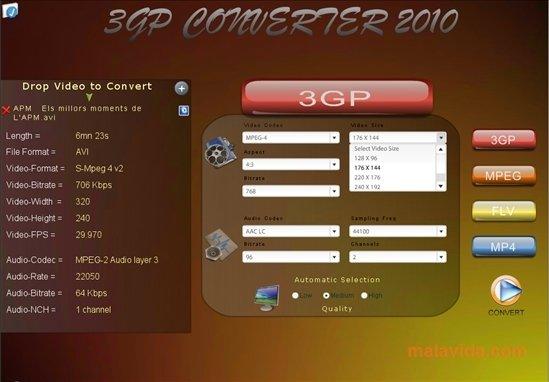 Reganam 3GP Converter image 4
