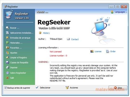 RegSeeker image 4