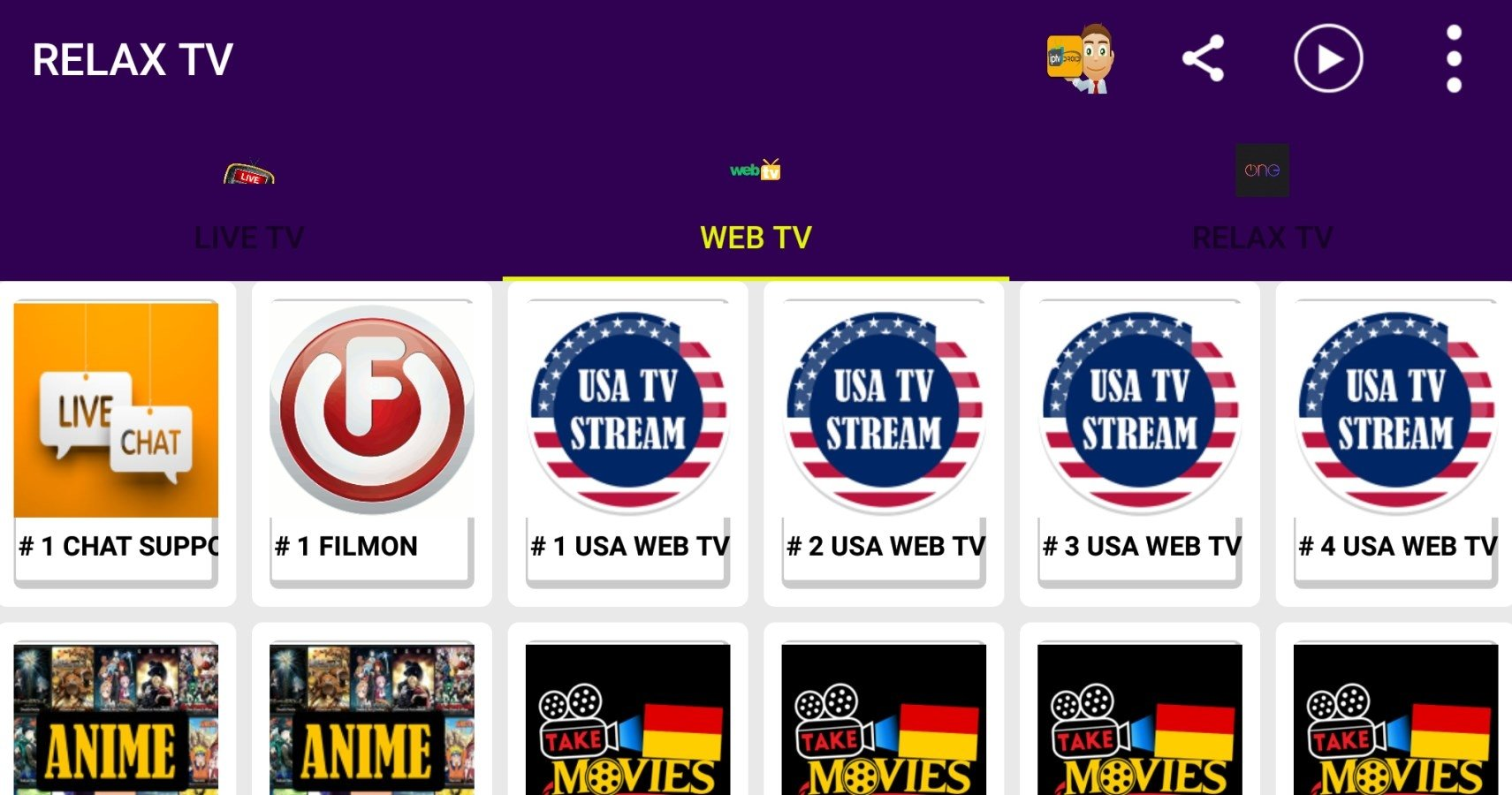 Ongekend Relax TV 1.0 - Download for Android APK Free MN-46