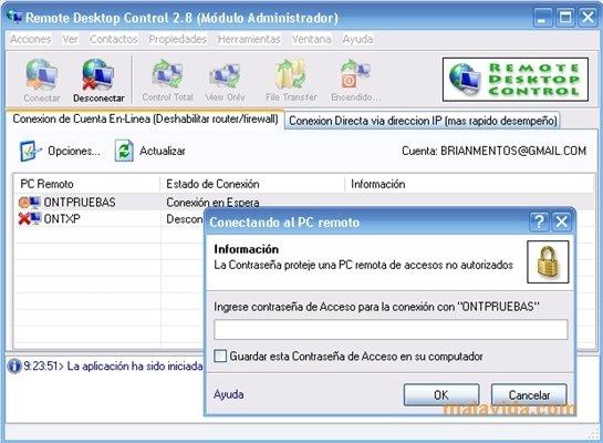 Remote Desktop Control image 4