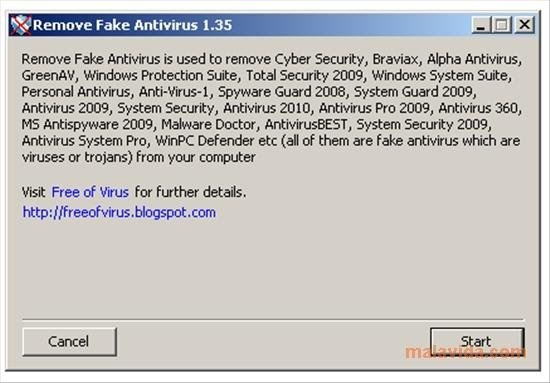 Remove Fake Antivirus 1 92 Download Fur Pc Kostenlos