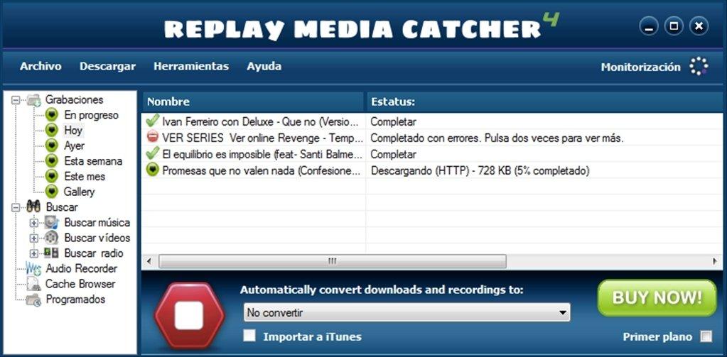 Replay Media Catcher image 5