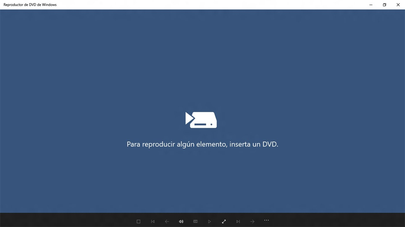 Windows DVD Player image 2