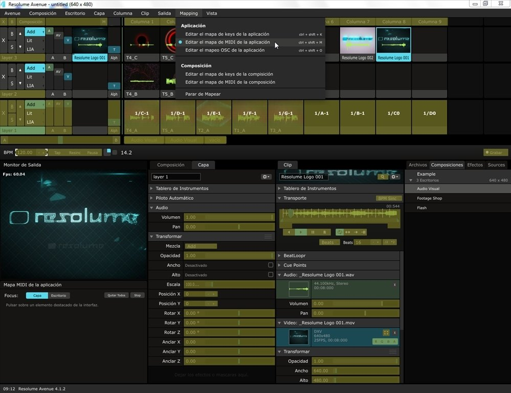 Resolume Avenue 6 0 7 - Download for PC Free