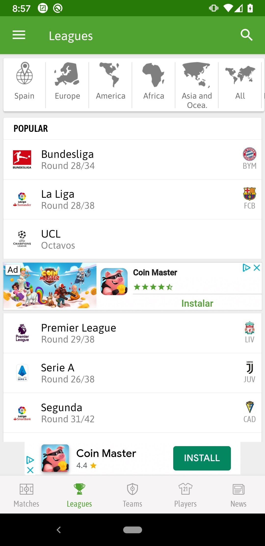 Soccer Live Scores 4 0 0 7 - Download for Android APK Free