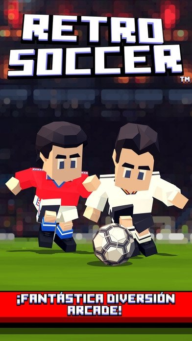 Retro Soccer - Arcade Football Game iPhone image 5