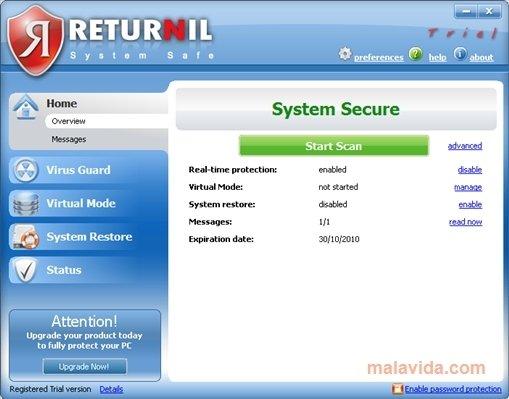 Returnil System Safe image 4
