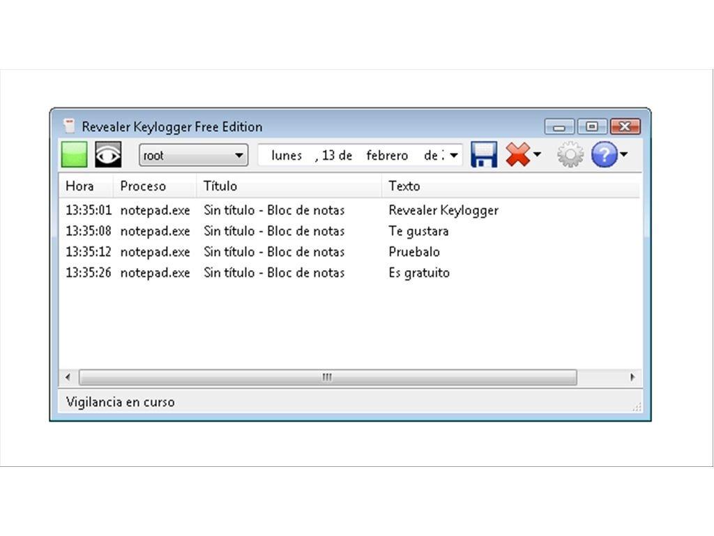 revealer keylogger gratuit 2.2
