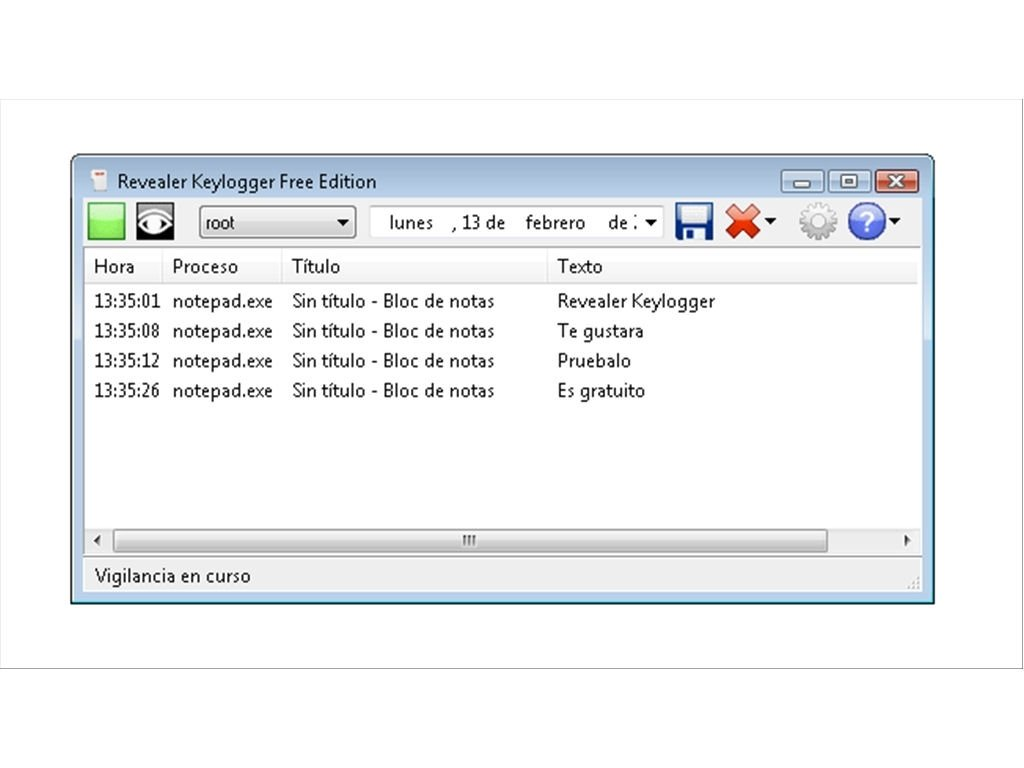 descargar revealer keylogger 1.4 free