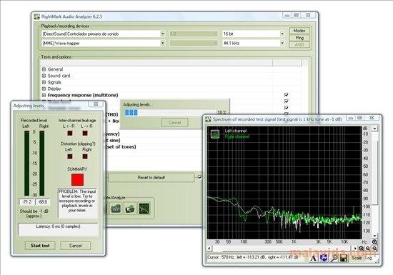 RightMark Audio Analyzer image 4