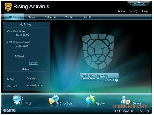 Rising Antivirus 2011 23.00.42.47