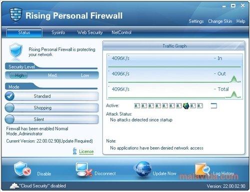 Rising Personal Firewall image 4