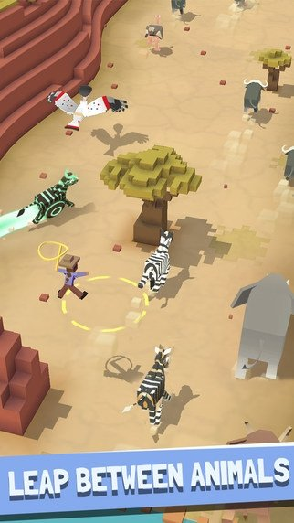 Rodeo Stampede iPhone image 5