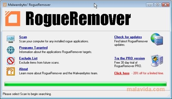 RogueRemover image 5