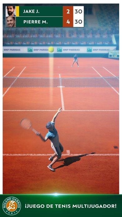 Roland-Garros Tennis Champions iPhone image 5