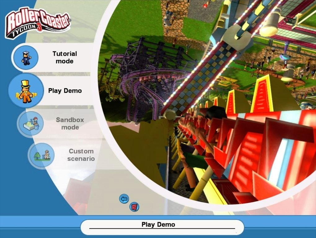 RollerCoaster Tycoon 3 - Download for PC Free