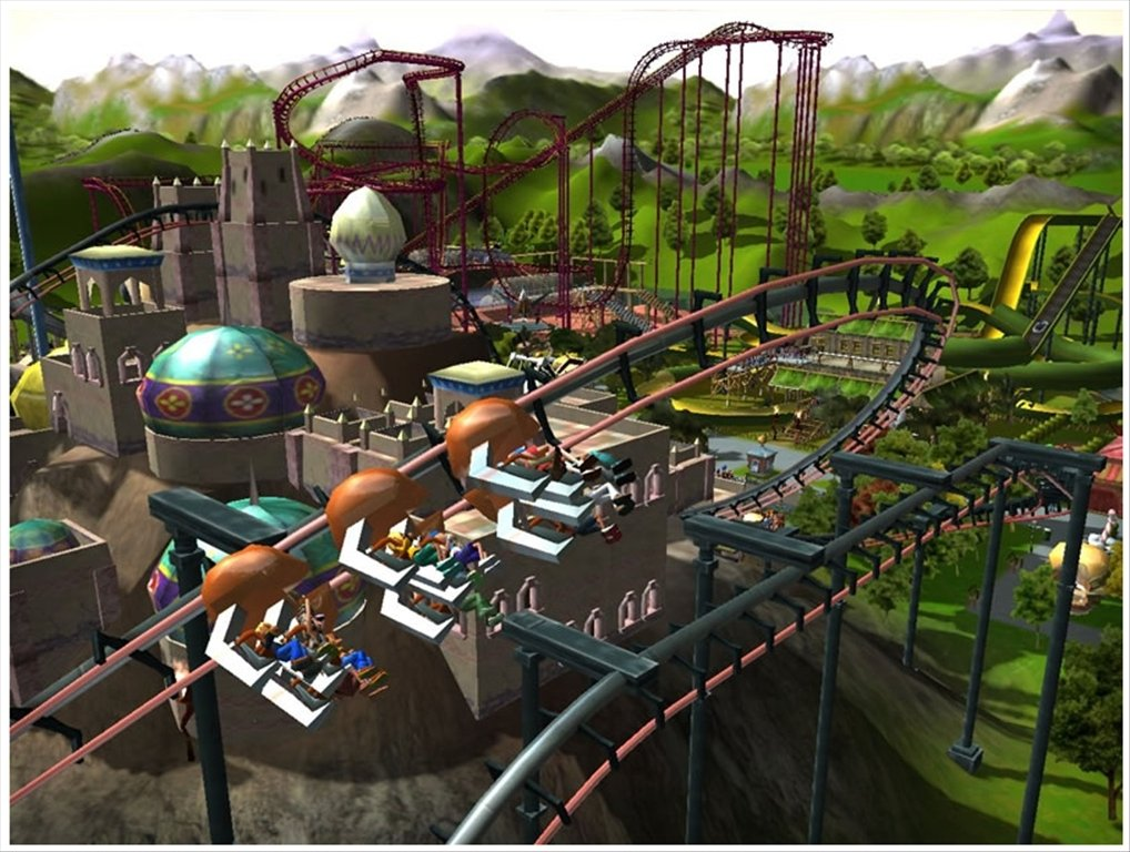 how to download rollercoaster tycoon 3 on mac