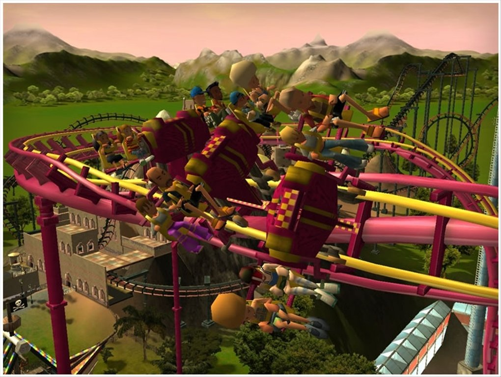 rollercoaster tycoon 3 download