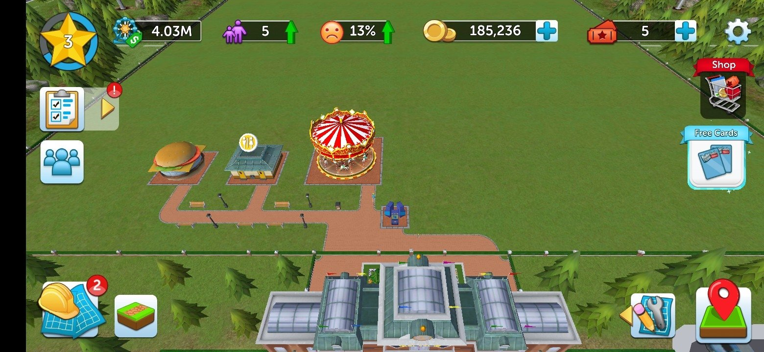 RollerCoaster Tycoon Touch Android image 8
