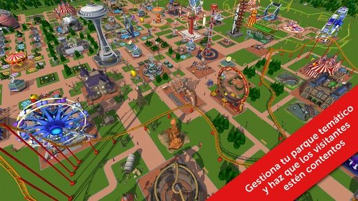 RollerCoaster Tycoon Touch iPhone image 5