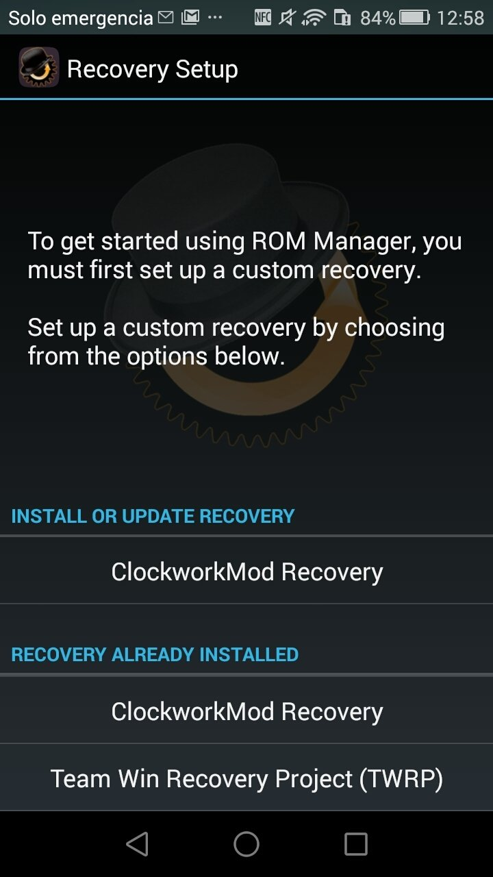 ROM Manager Android image 4