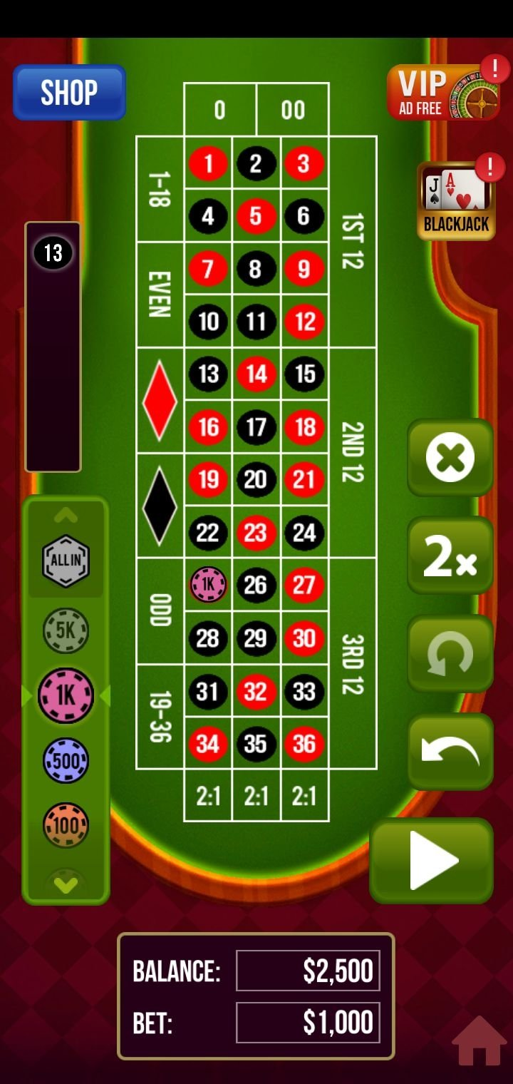 Roulette Casino Vegas 1 0 28 Download For Android Apk Free