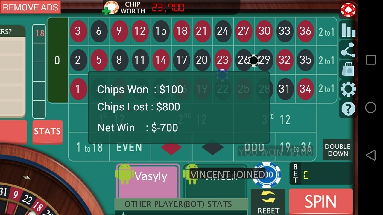 Roulette royale android hack