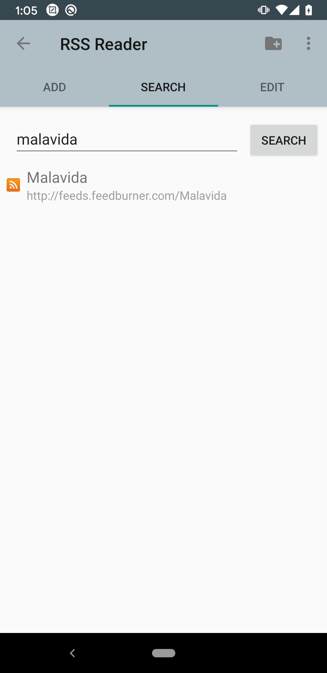 RSS Reader Android image 5