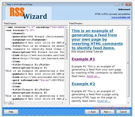 RSS Wizard image 3
