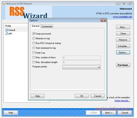 RSS Wizard 4 00 - Download for PC Free