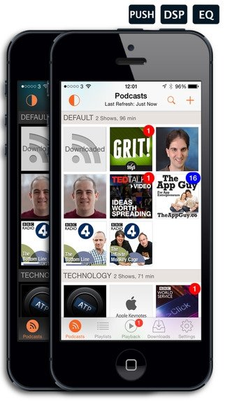 RSSRadio iPhone image 5
