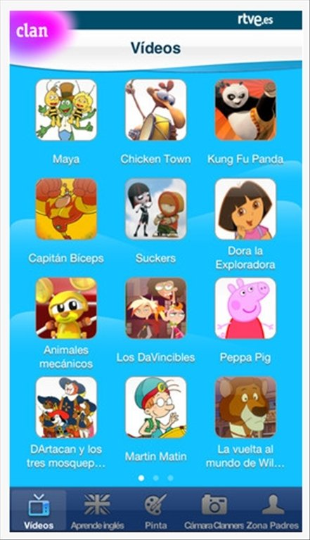 iphone to tv descargar rtve clan 2 3 2 iphone gratis en espa 241 ol 12395