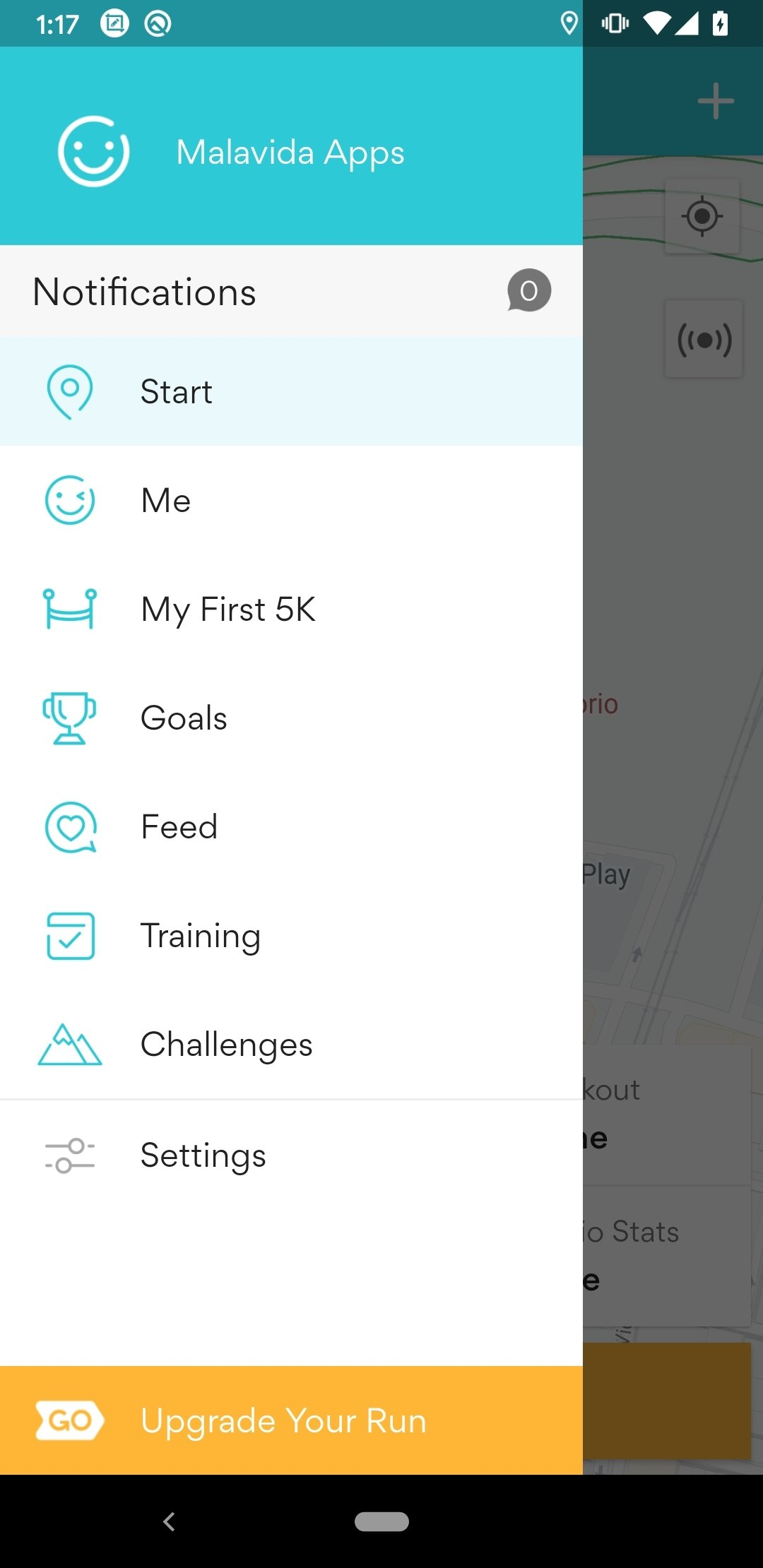 runkeeper android gratuit