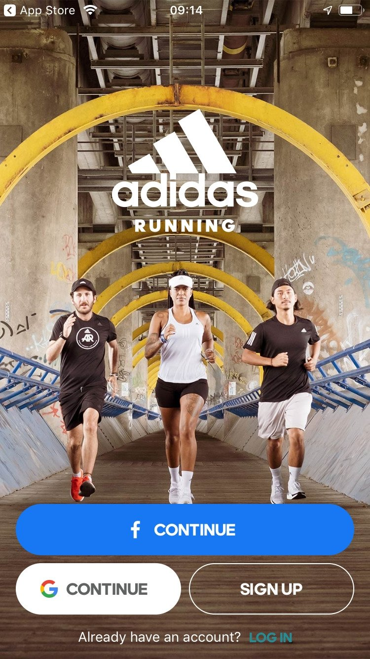 Runtastic GPS: Course à pied, Marche, Coach sportif iPhone image 5
