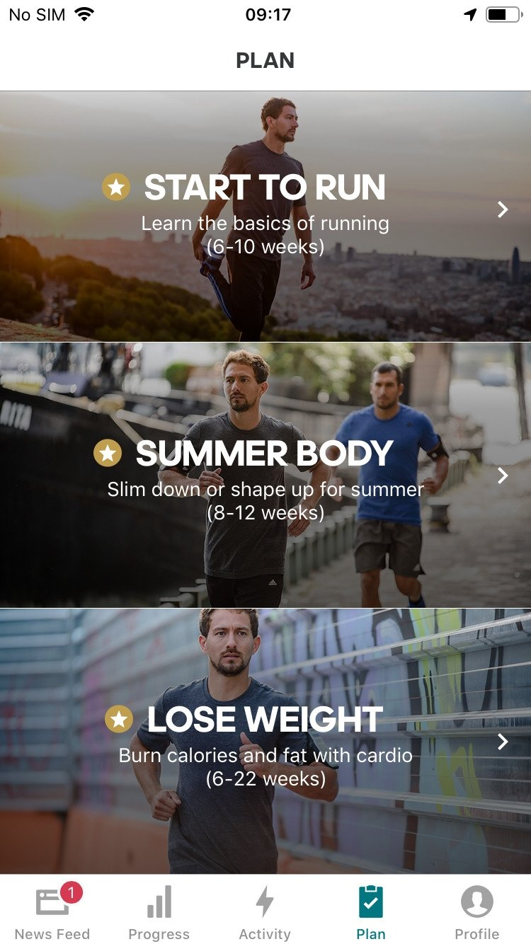 Runtastic GPS: Running, Jogging and Fitness Tracker